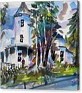 Hudson River Victorian Canvas Print