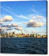 Hudson Waterfront Canvas Print