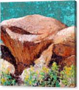 Hueco Tanks Rocks Canvas Print