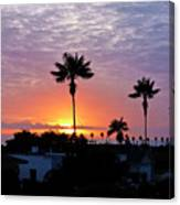 Hued Sunset  Canvas Print