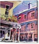 Hues Of The French Quarter Canvas Print