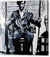 Huey Newton Minister Of Defense Black Panther Party Canvas Print