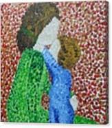 Hug Me Mommy Canvas Print