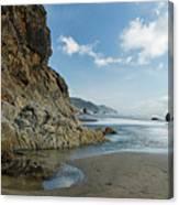 Hug Point Beach Canvas Print