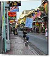 Huge Ass Beers - Bourbon Street New Orleans Canvas Print
