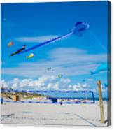 Huge Kites Delray Beach Canvas Print