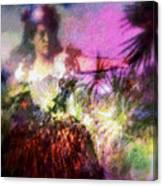 Hula Mai Oe Canvas Print