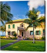 Hulihe'e Palace, Kona, Big Island Hawaii Canvas Print