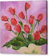 Hull Roses Canvas Print