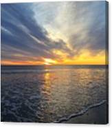Hull Sunrise In March  Canvas Print