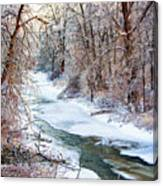 Humber River Winter Canvas Print