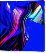 Hummingbird In The Blue. Canvas Print