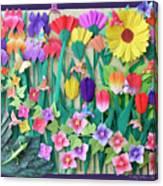 Hummingbird's Delight By Mary Ellen Palmeri Canvas Print