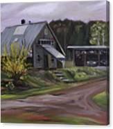 Humpals Barn Canvas Print