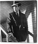 Humphrey Bogart Stairs The Maltese Facon 1941  Canvas Print