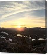 Humphreys Basin Sunset Canvas Print