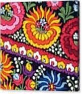 Hungarian Matyo Szentgyorgy Folk Embroidery Photographic Print Canvas Print