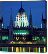 Hungarian Parliament Building Canvas Print