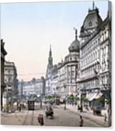 Hungary: Budapest, C1895 Canvas Print