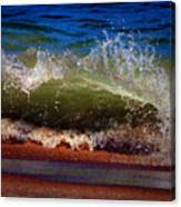 Hungry Wave Of Fenwick Island Canvas Print