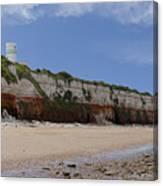 Hunstanton Cliffs Canvas Print