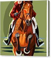 Hunter Jumper Canvas Print
