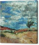 Hunter Lake Hillside Canvas Print
