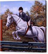 Hunter Pony Canvas Print