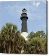 Hunting Island Lighthouse Canvas Print