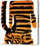 Hunting Tiger Canvas Print