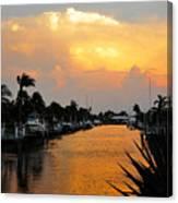 Hurricane Season Canvas Print