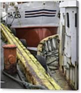 Husavik Boats Iceland 3741 Canvas Print