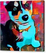 Husky 3 Canvas Print