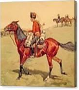 Hussar Russian Guard Corps Canvas Print