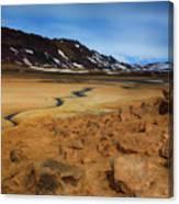 Hverir Geothermal Springs Canvas Print