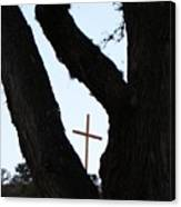 Hwy 87 Cross One Canvas Print
