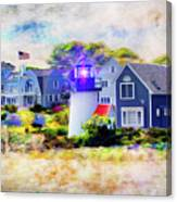 Hyannis Lighthouse Canvas Print