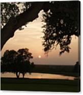 Hyde Ranch Sunset Canvas Print