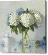 Hydrangeas For Susan Canvas Print
