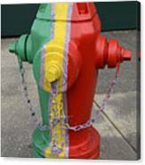 Hydrant With A Facelift Canvas Print