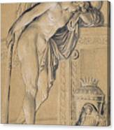 Hymen Mourning Canvas Print