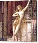 Hypatia  Canvas Print