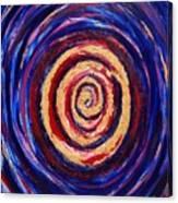 Hypnotic Gold Canvas Print