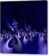 Hypnotique Blue Canvas Print