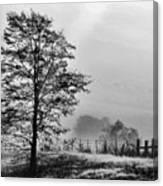 I-40 Fog Canvas Print