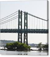 I-74 Bridge Canvas Print