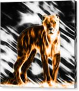 I Am The Lioness Canvas Print