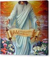 I Am The Resurrection Canvas Print