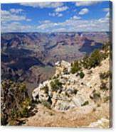 I Can See For Miles And Miles - Grand Canyon Canvas Print