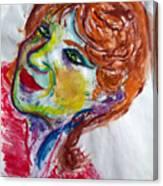 I-clown Canvas Print